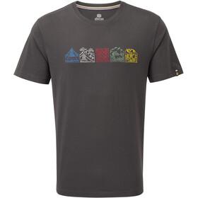 Sherpa Lungta T-Shirt Col Ras-Du-Cou Homme, kharani grey